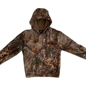 RealTree Red Head Wood Camo Forest Hunting Hoodie